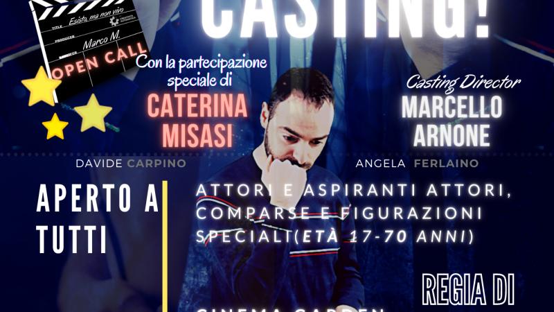 """Casting a Cosenza: si cercano attori, figurazioni speciali e comparse per il cortometraggio """"Esisto ma non vivo"""""""